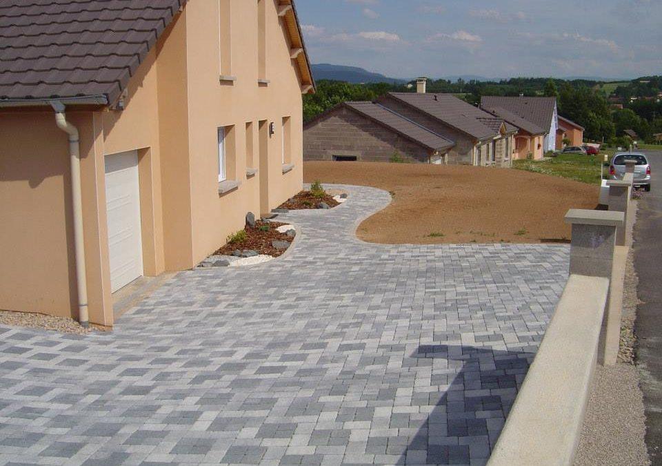 Création de terrasse à Saulcy