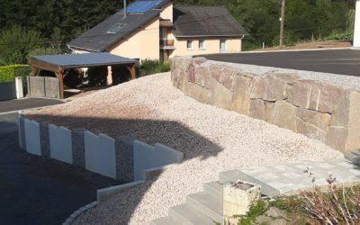 Mur de soutènement à Saint-Dié et alentours
